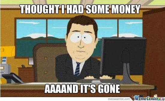no money no sales