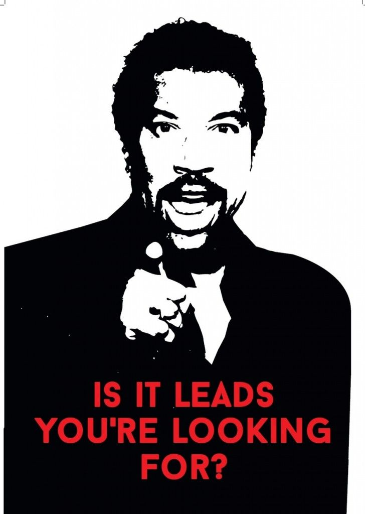guy ask about leads from sales call