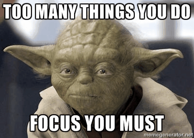 yoda will help you focus in sales calls