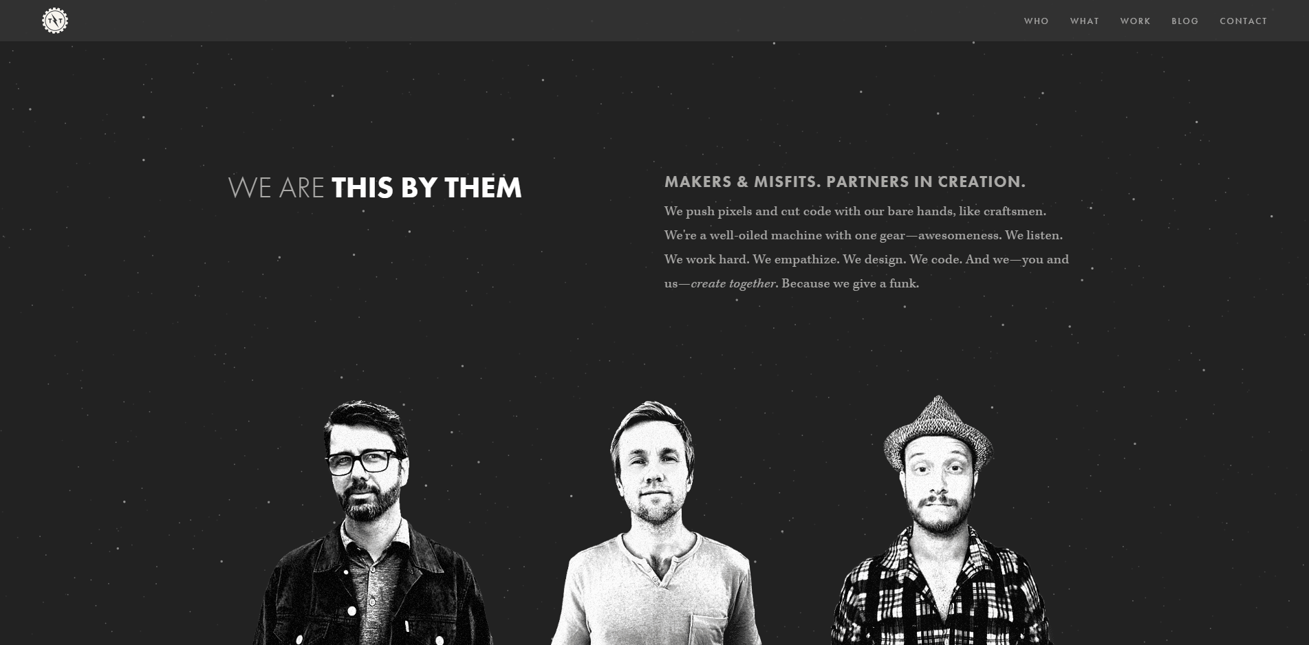 This by Them – Handcrafted Websites Apps