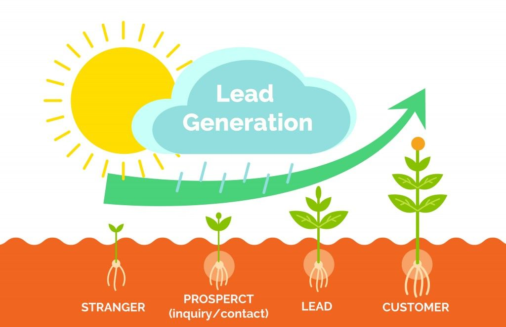 describe the process of generation leads