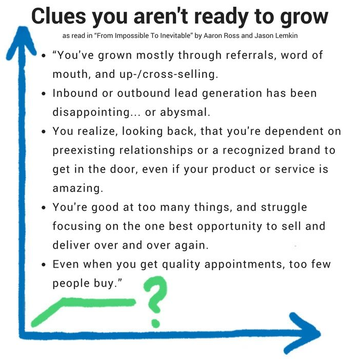 clues why not you ready to grow your sales