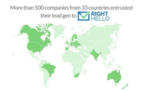 RightHello grow number of business clients