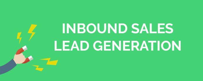 inbound sales leads